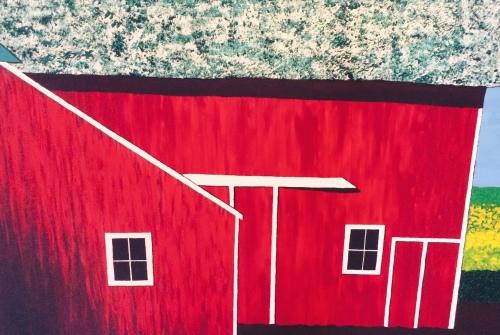 Surreal Barn